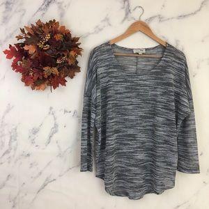 Olive & Oak Marled Space Dry Sweater